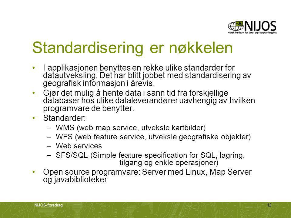 Standardisering er nøkkelen