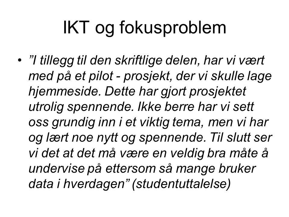 IKT og fokusproblem