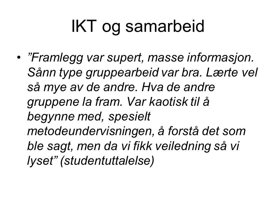 IKT og samarbeid
