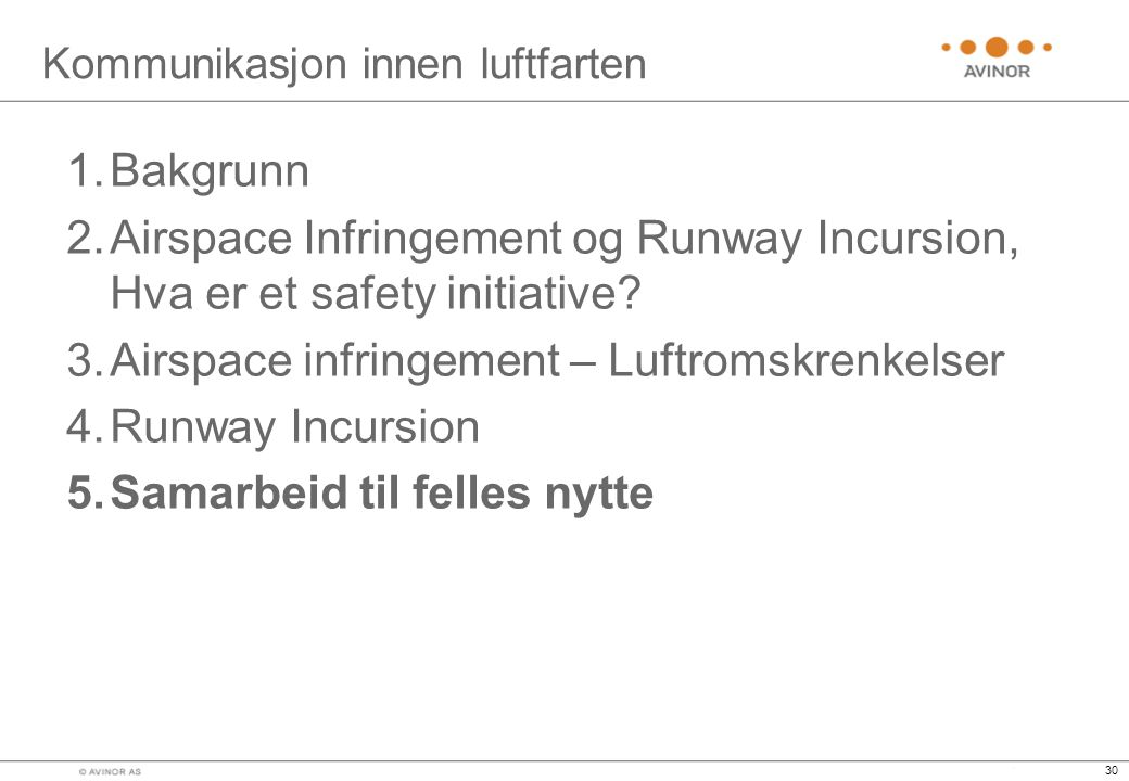 Kommunikasjon innen luftfarten