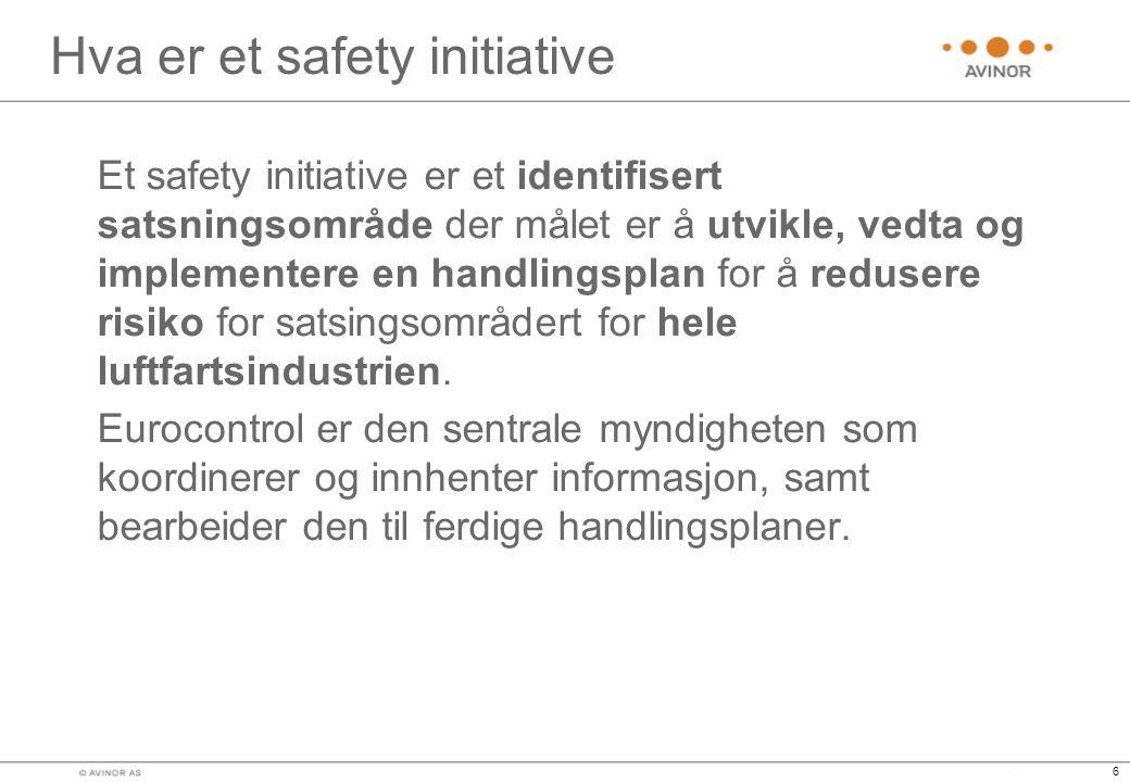 Hva er et safety initiative