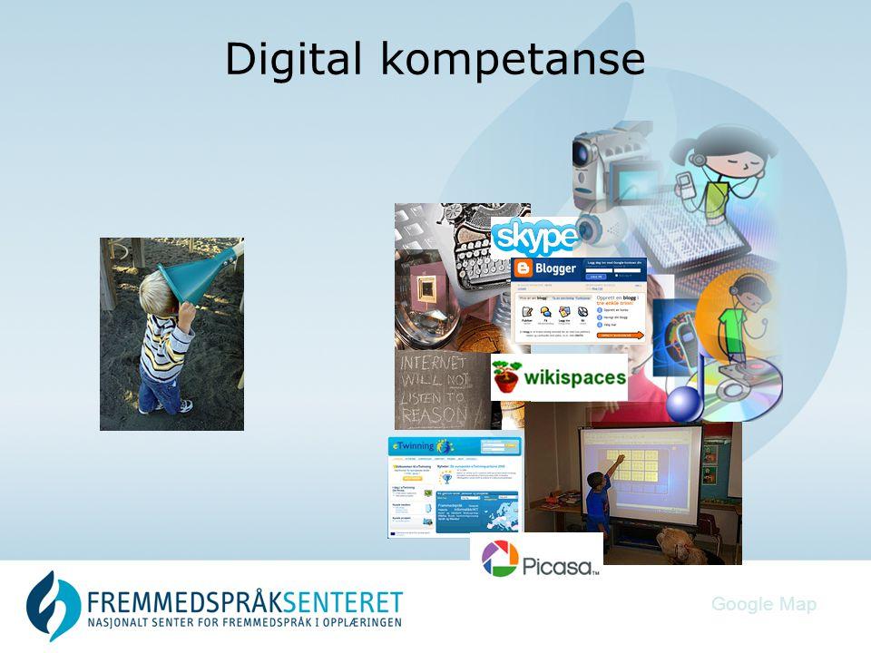 Digital kompetanse Google Map