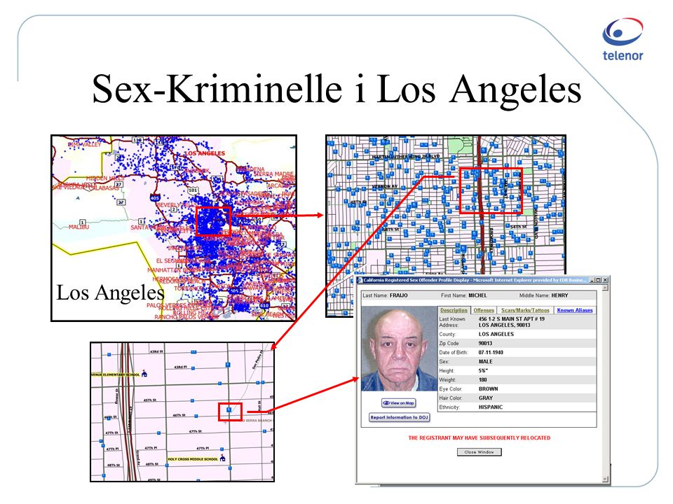 Sex-Kriminelle i Los Angeles
