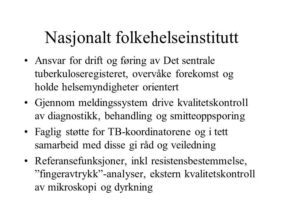 Nasjonalt folkehelseinstitutt