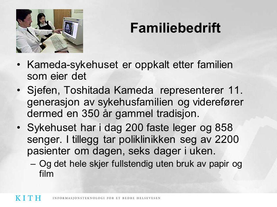 Familiebedrift Kameda-sykehuset er oppkalt etter familien som eier det