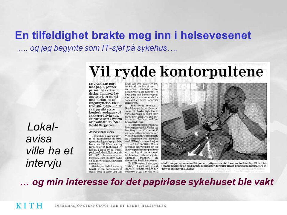 Lokal-avisa ville ha et intervju