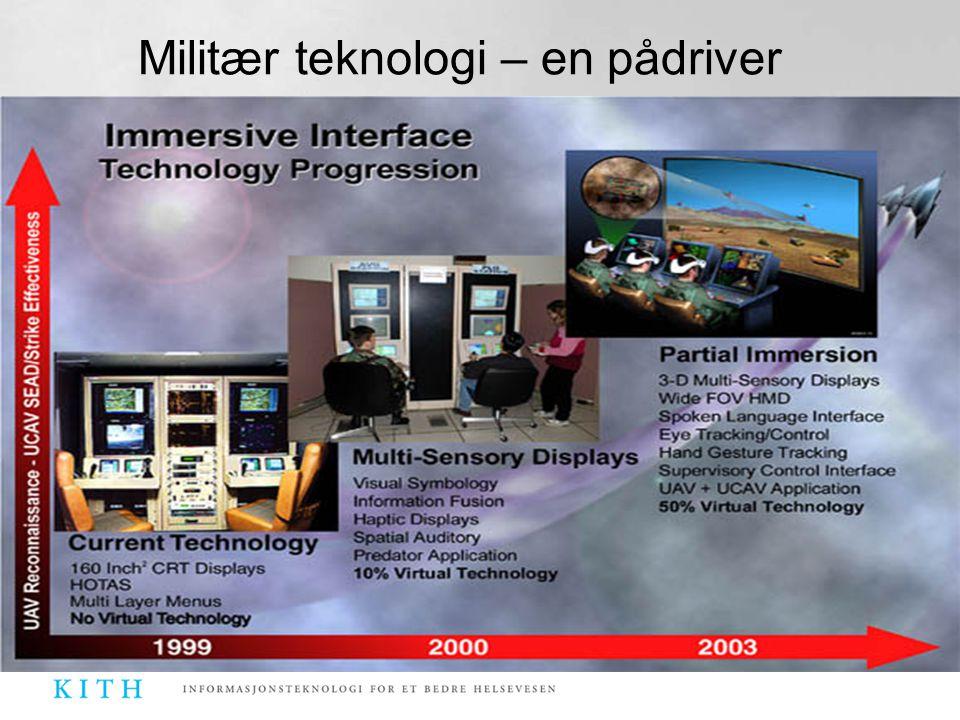 Militær teknologi – en pådriver