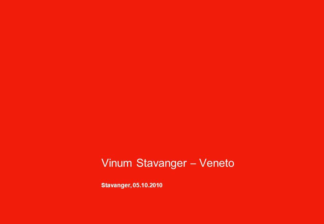 Vinum Stavanger – Veneto