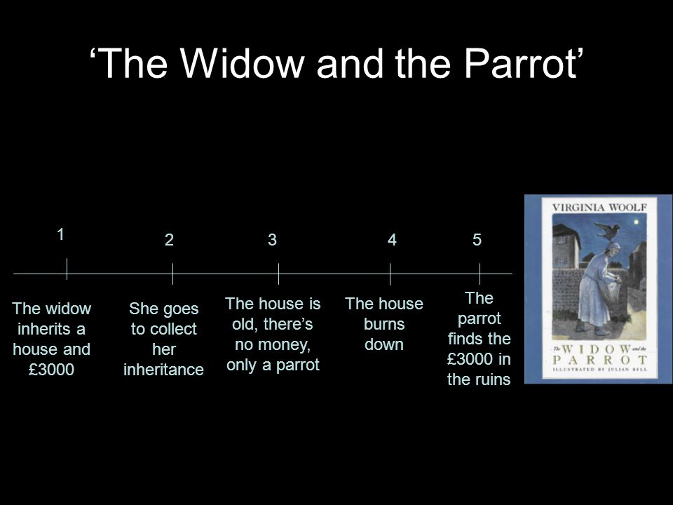 'The Widow and the Parrot'