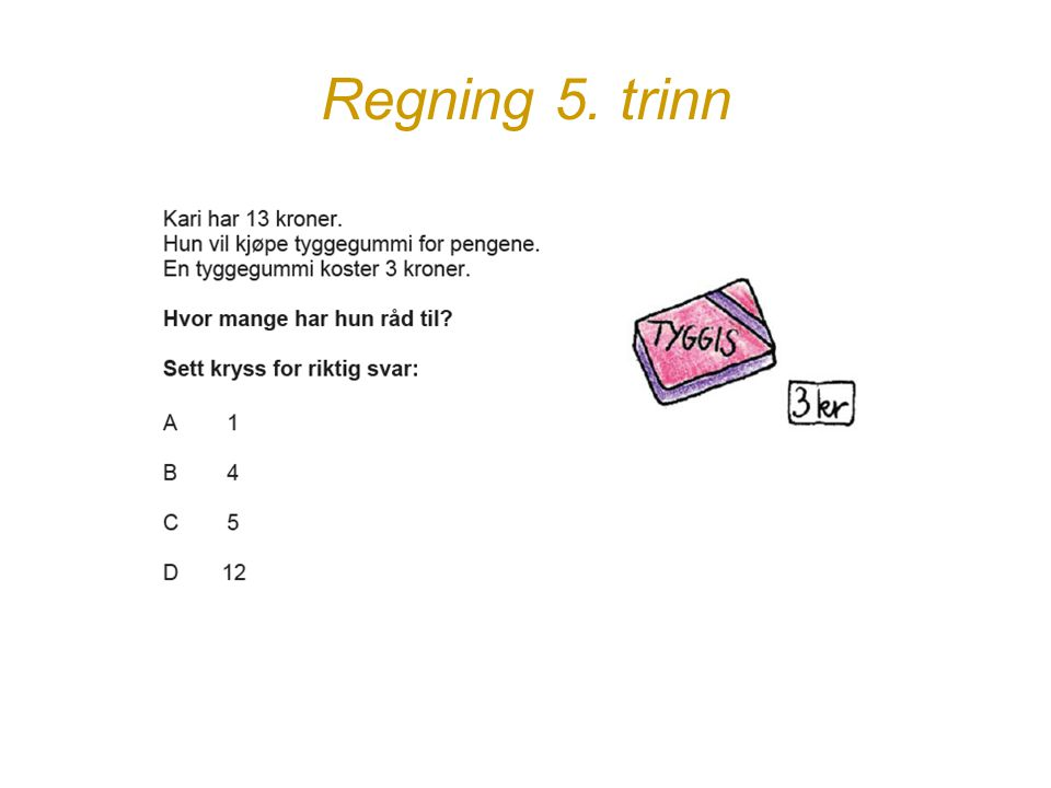 Regning 5. trinn