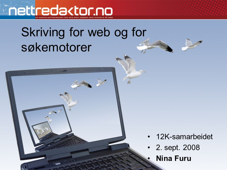 Skriving for web og for søkemotorer