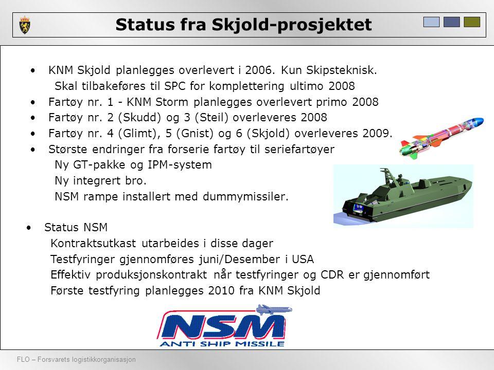 Status fra Skjold-prosjektet
