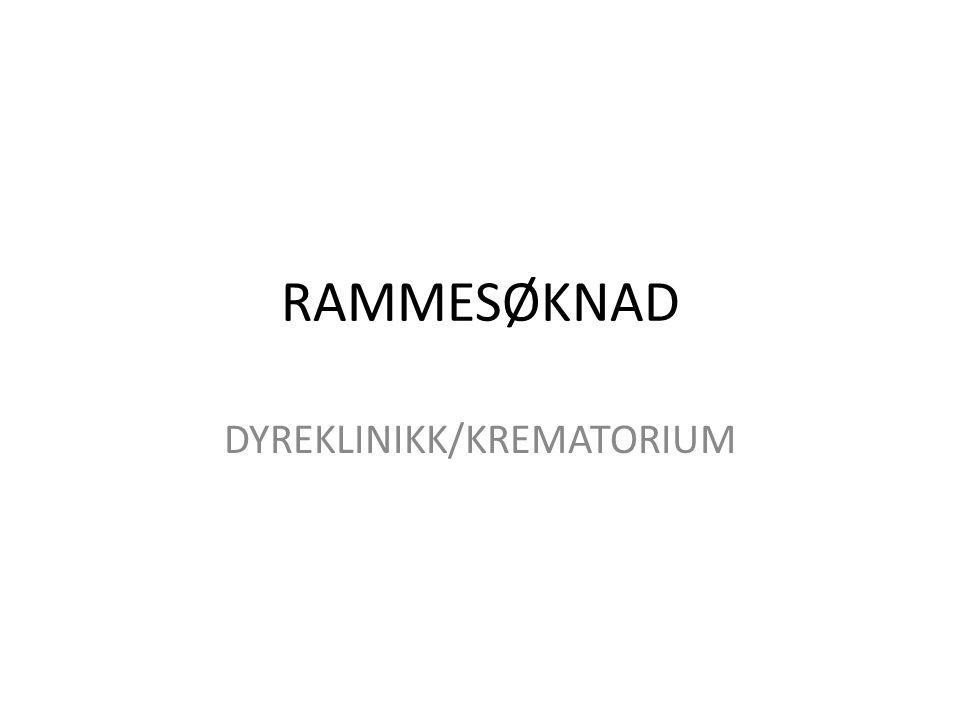 DYREKLINIKK/KREMATORIUM
