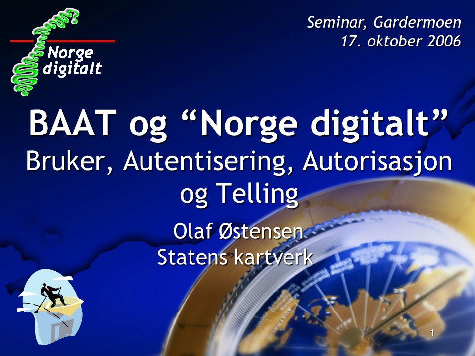 Olaf Østensen Statens kartverk