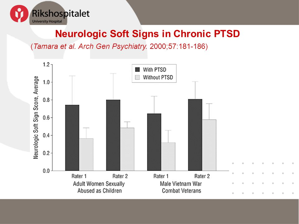 Neurologic Soft Signs in Chronic PTSD (Tamara et al