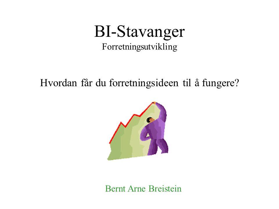 BI-Stavanger Forretningsutvikling