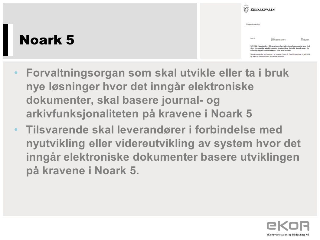 Noark 5