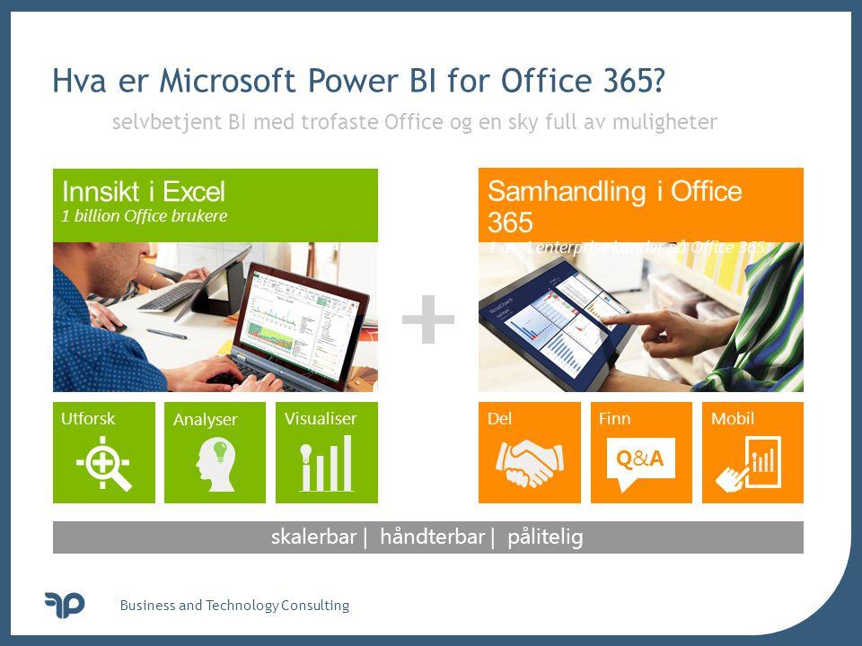 Hva er Microsoft Power BI for Office 365