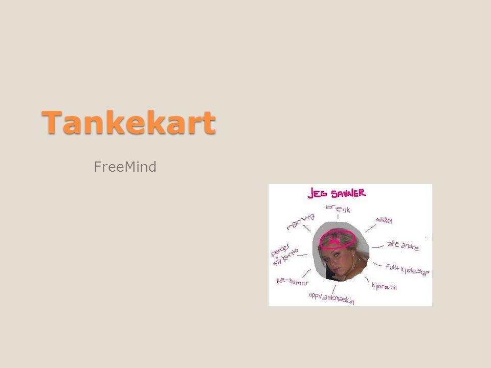 Tankekart FreeMind