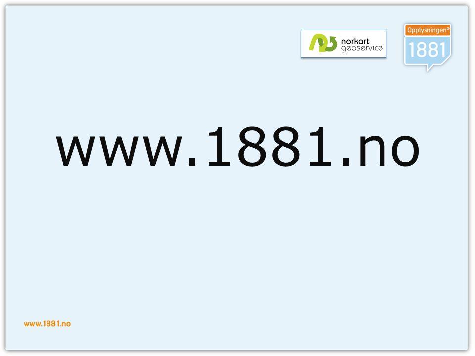 www.1881.no
