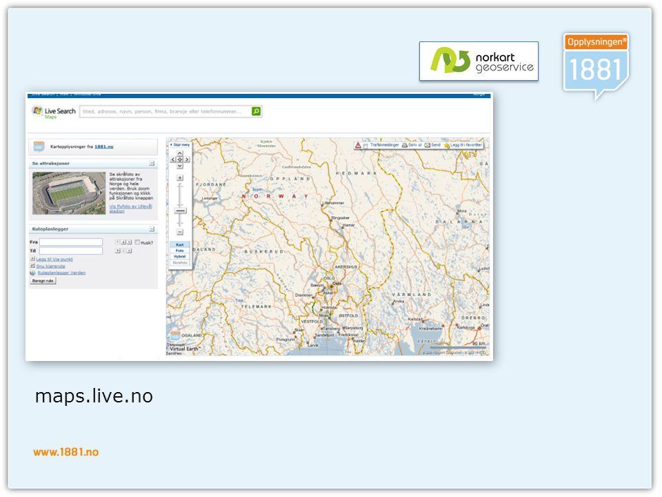 maps.live.no