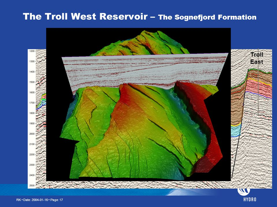 The Troll West Reservoir – The Sognefjord Formation