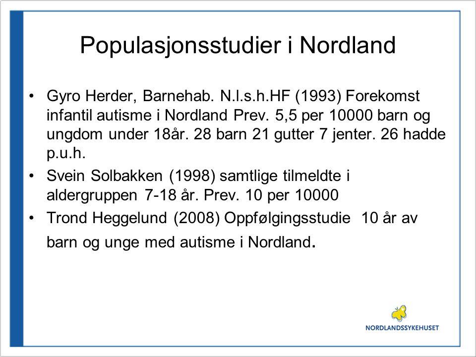 Populasjonsstudier i Nordland