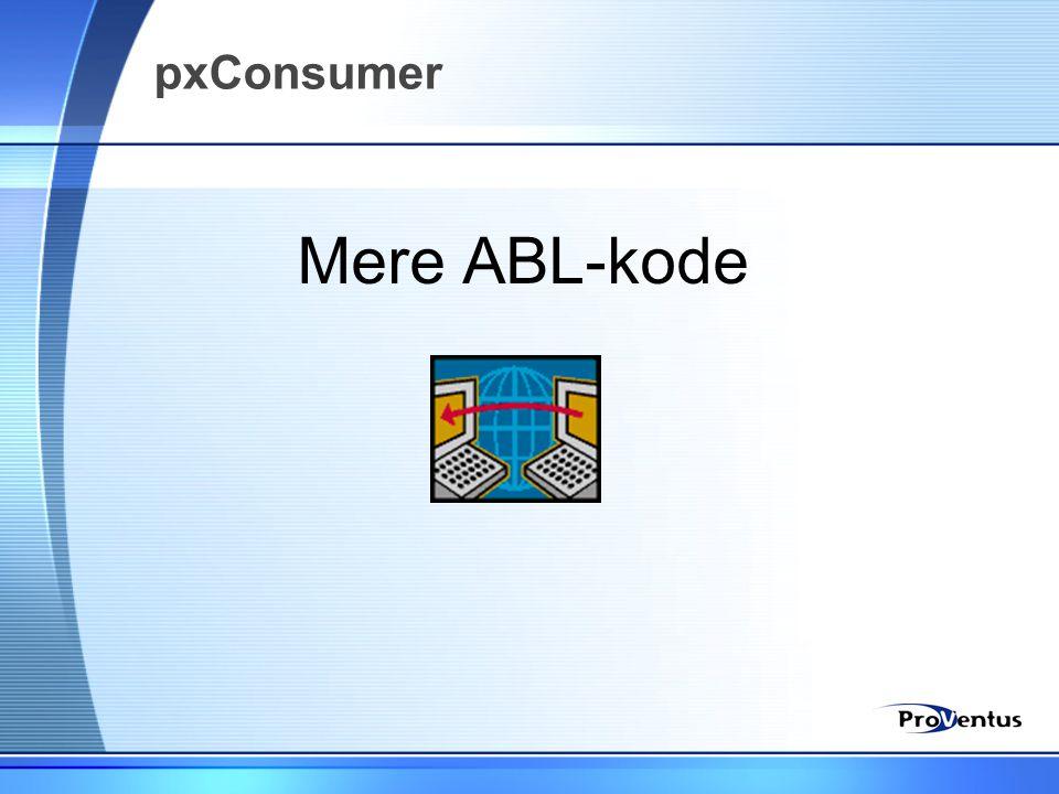 pxConsumer Mere ABL-kode