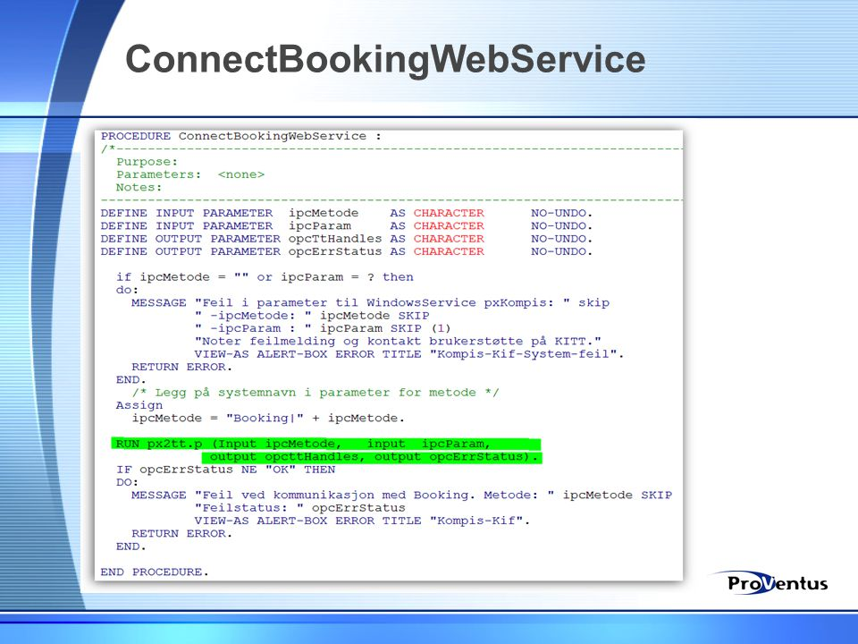ConnectBookingWebService