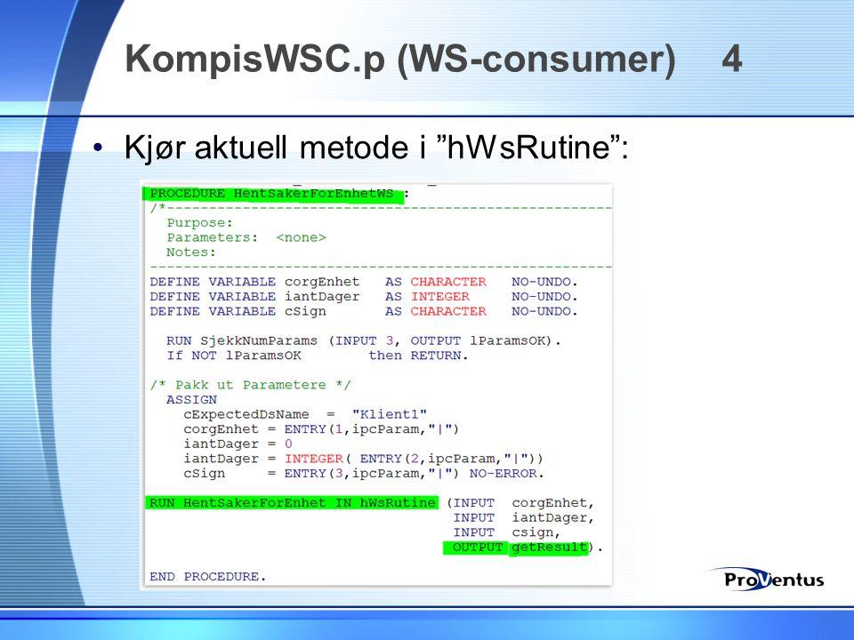 KompisWSC.p (WS-consumer) 4