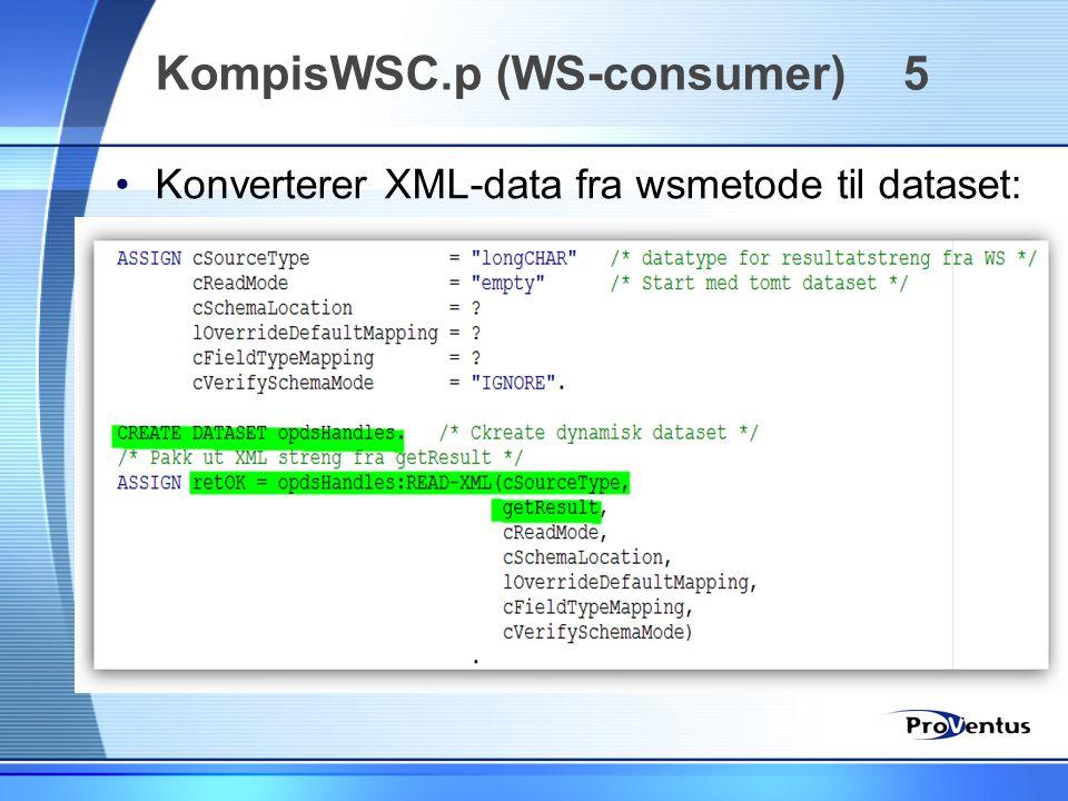 KompisWSC.p (WS-consumer) 5