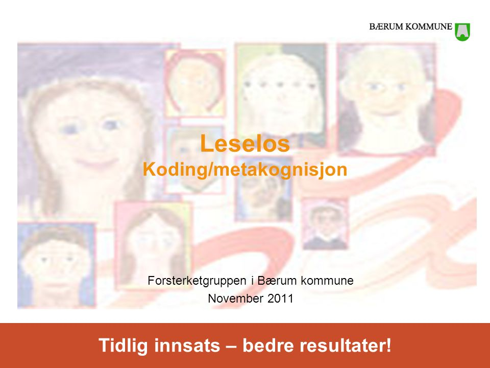 Leselos Koding/metakognisjon