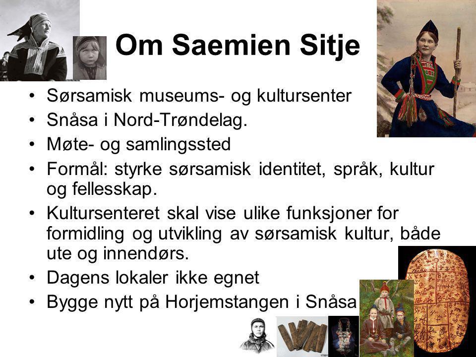 Om Saemien Sitje Sørsamisk museums- og kultursenter