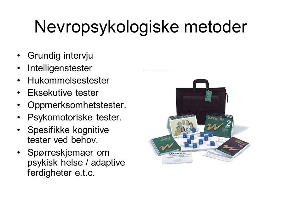 Nevropsykologiske metoder