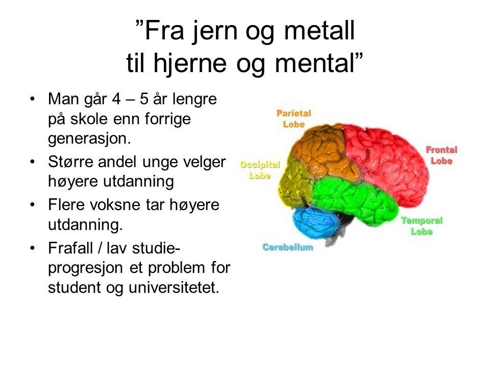 Fra jern og metall til hjerne og mental