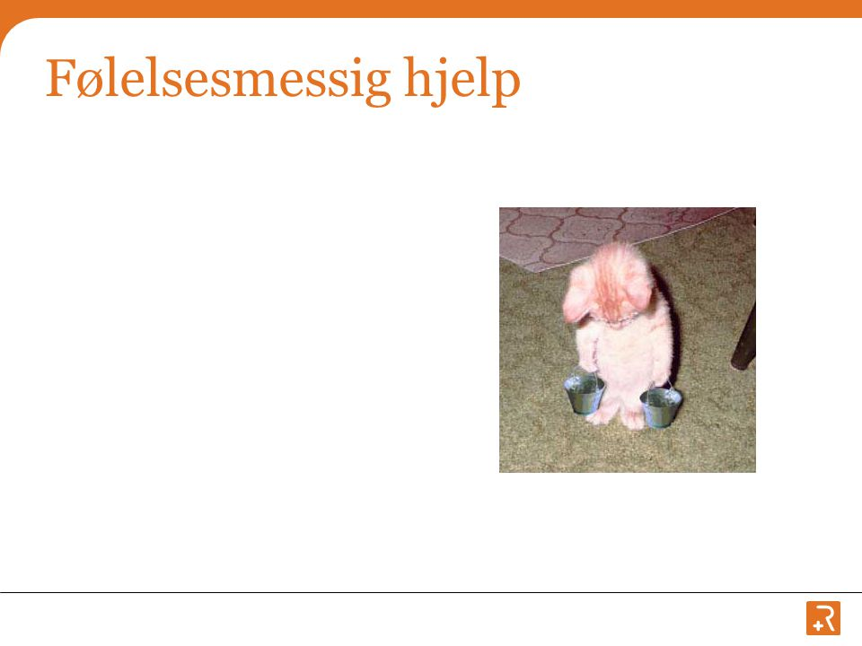 Følelsesmessig hjelp