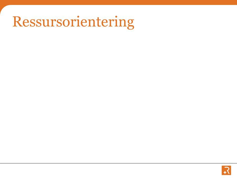 Ressursorientering