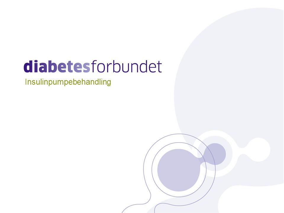 Insulinpumpebehandling