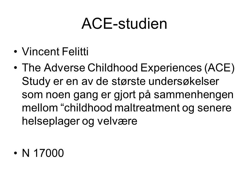 ACE-studien Vincent Felitti