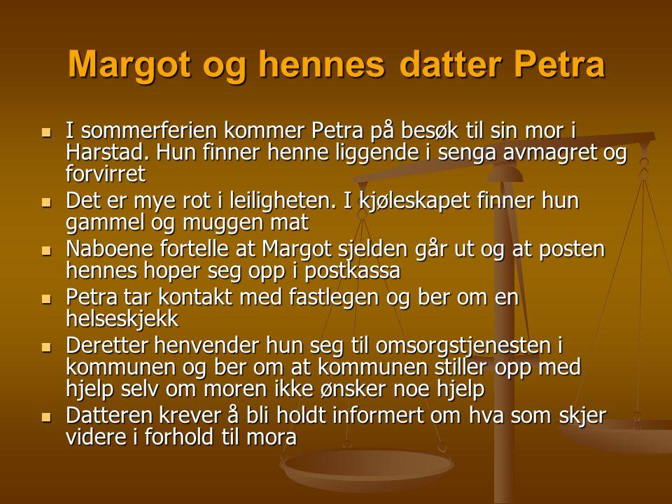 Margot og hennes datter Petra