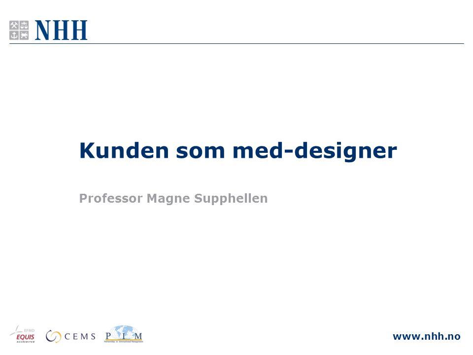 Kunden som med-designer