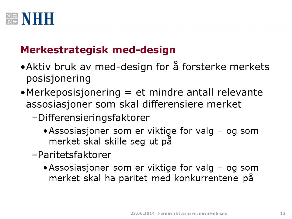 Merkestrategisk med-design