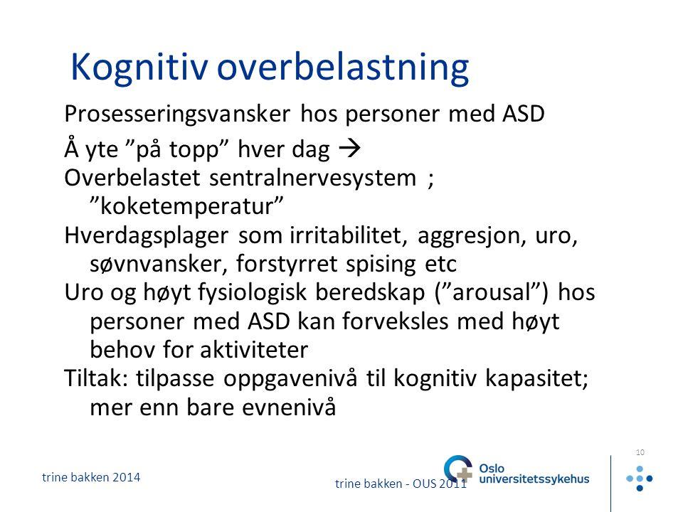 Kognitiv overbelastning