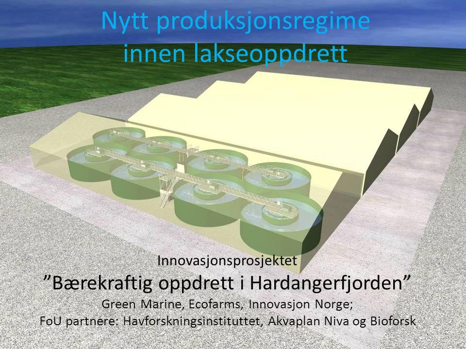 Bærekraftig oppdrett med nytt produksjonsregieme
