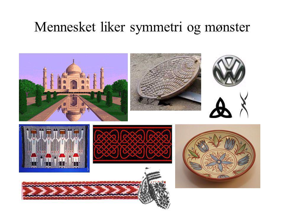 Mennesket liker symmetri og mønster