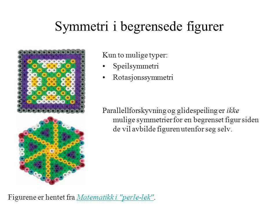 Symmetri i begrensede figurer