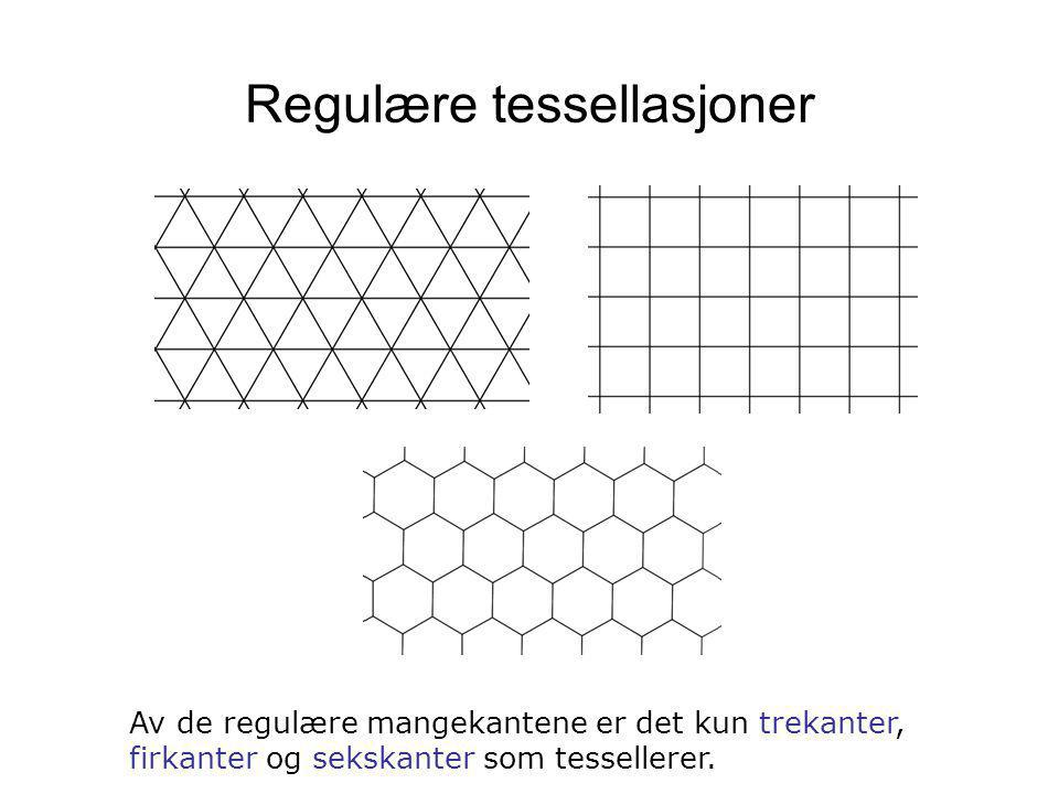 Regulære tessellasjoner