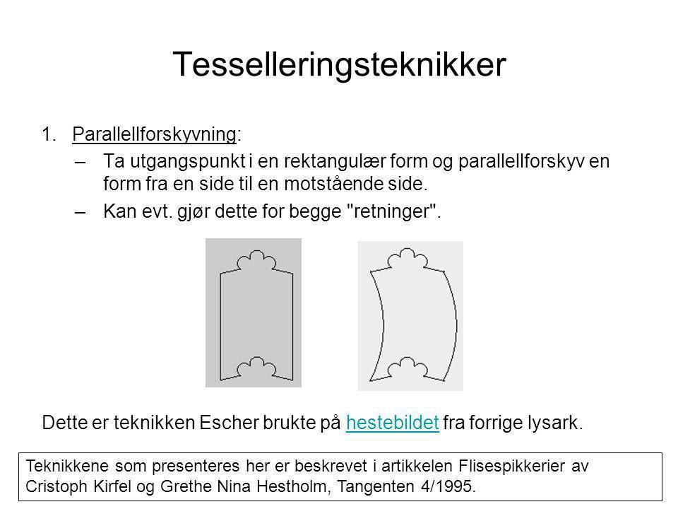 Tesselleringsteknikker