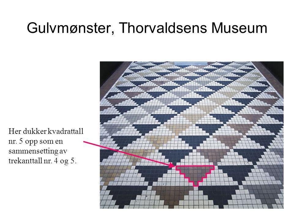 Gulvmønster, Thorvaldsens Museum