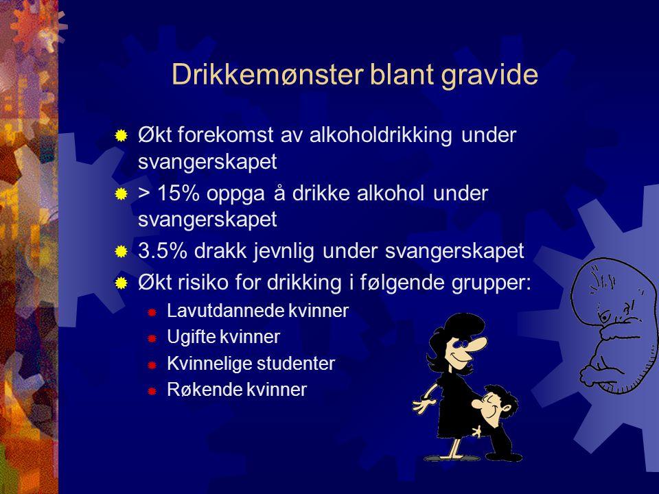 Drikkemønster blant gravide